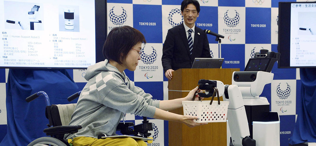 Los robots que formarán parte los Juegos Olímpicos Tokio 2020