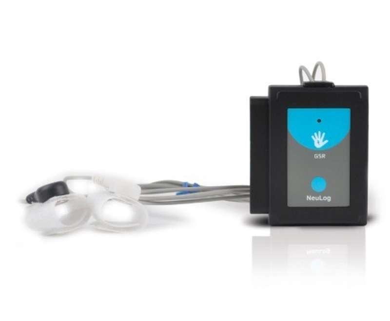 Sensor interface de Respuesta Galvánica de la Piel (GSR)