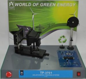 Sistema de entrenamiento de Energía – Solar (TP-3701)