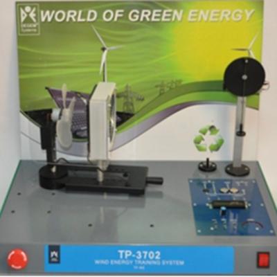Sistema de entrenamiento de energia eolica