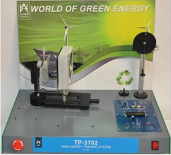 Sistema de entrenamiento de Energía – Eólica (TP-3702)